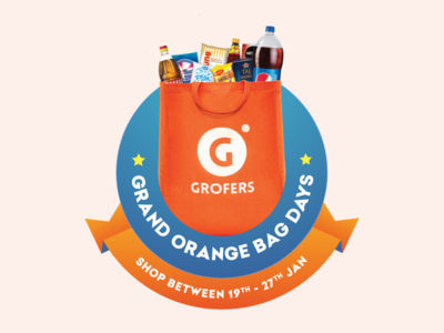 Grofers - Grand Orange Bag Days