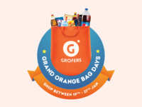 Grofers - Grand Orange Bag Days