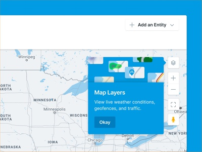 Onboarding for new map layers overlay map overlay introduction