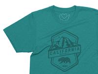 Badge of the Republic. California.