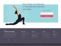 Web Newsletter Subscription
