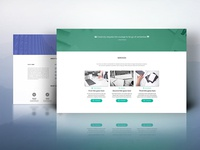 Material Landing Pages