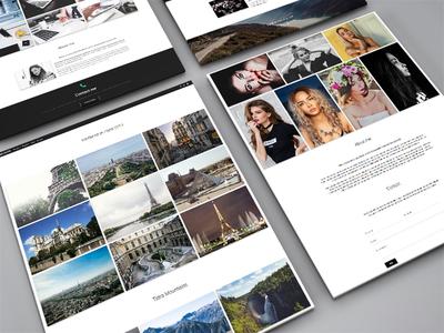 Art portfolios photography design web design material design portfolio art