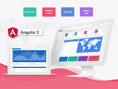 Angular + Material Design bootstrap design material angular