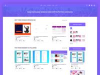 Portfolio Home Page Design