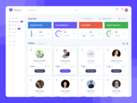 Freebie - Dashboard Design - Grid View