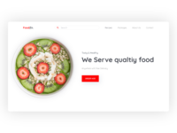 Food Zone Header Concept