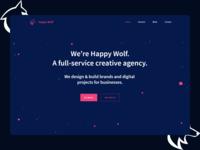 Happy Wolf Hore Image