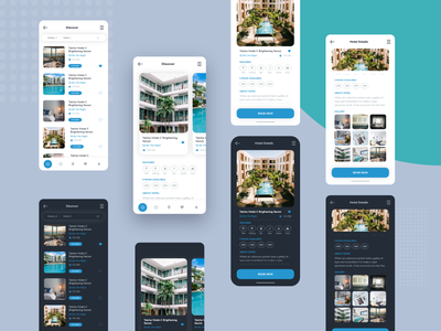 Booking App UI booking clean trip travel app travel place search mobile app find mobile booking app booking australia ux ui mobile minimal ios interface illustration design clean app