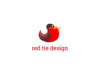 the red tie design