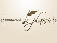 "restrant ""Le Plaisir"" logo design"