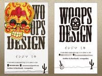 woops design namecard