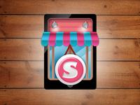 smartphone Store icon