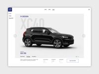Automotive Car Model Page