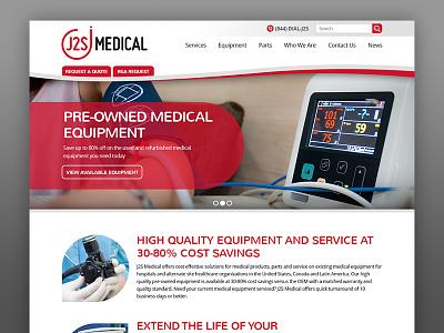 J2S Medical Web Design medical design website