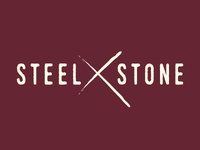 Steel & Stone Knife Shop Logo
