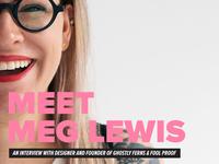 Meet Meg Lewis
