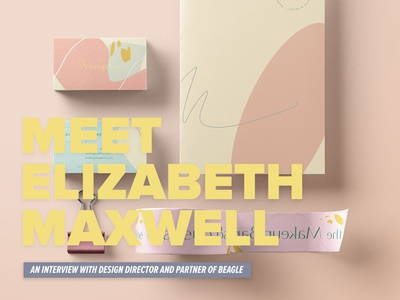Meet Elizabeth Maxwell typography logo freelance interview branding cage design collaboration illustration