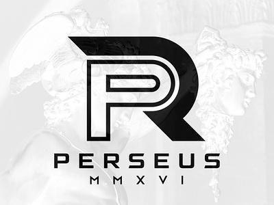 Perseus logo perseus monogram logo demi god demi god god greek roman monogram