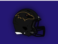 Baltimore Ravens Concept Helmet