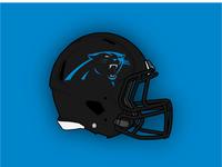 Carolina Panthers Concept Helmet