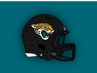 Jacksonville Jaguars Concept Helmet