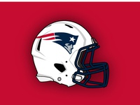 New England Patriots Concept Helmet