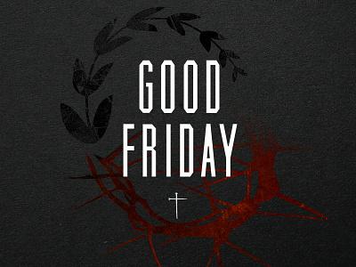 Good Friday 2015 good friday goodfriday cross nails laurel crown tupe