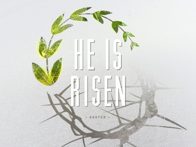 Easter 2015 easter risen laurel crown type