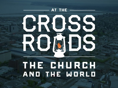 Crossroads branding sermon type world church crossroads