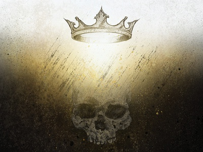Paradox - Micah crown skull illustration redemption ruin paradox
