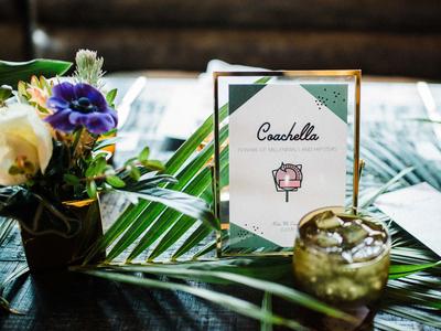 Palm Springs Wedding Table Names