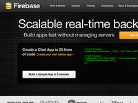Firebase Homepage