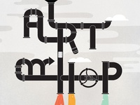 Art Hop Program Cover