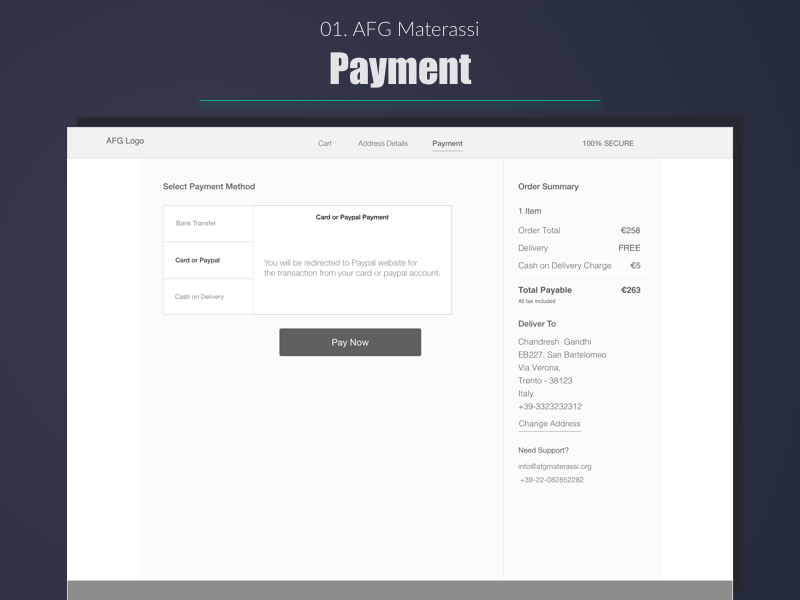 Top Line Materassi.Afg Materassi Payment Options By Dhaval S Gandhi On Dribbble