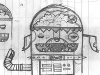 R2 dog2 sketch
