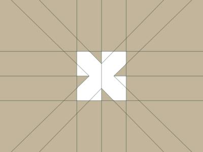 X letter mark
