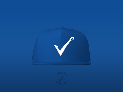 Angler Approved Blue Cap