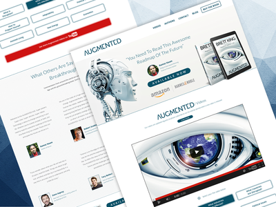 Augmented Book Website Design