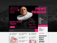 News Season — Web Journal