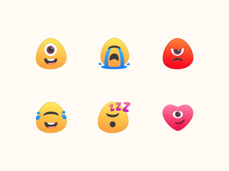 Alien Emoji by shiva on Dribbble