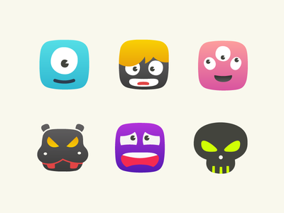 Random Monster Icons