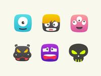Random Monster Icons