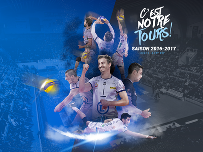 Poster - Next Game players tours communication sport affiche volley poster design graphic volleyball