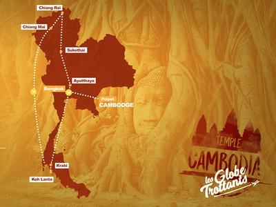 Cambodia Map itinerary discover travelling blog worldtravel travel cambodia map
