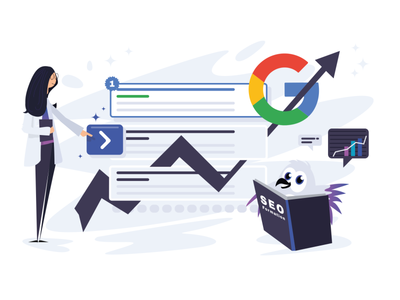 Web Illustration SEO design webdesign seo services product interface stats google mobile app web illustration seo