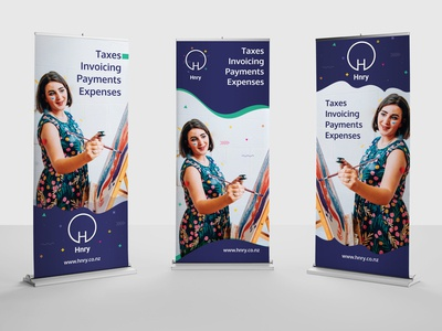 Hnry - Banner stand