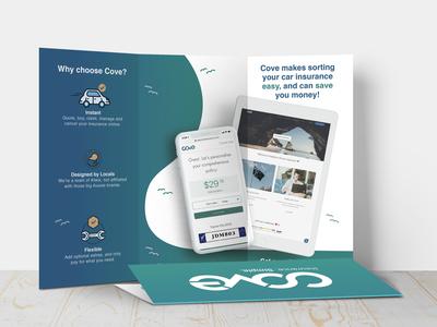Cove Insurance Trifold Brochure