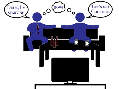 Couch Scene adobe illustrator video animation