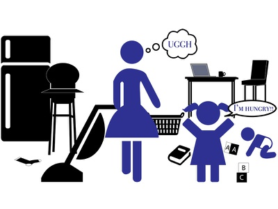 Family Scene adobe illustrator video animation